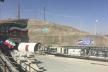 21 کیلومتر از تونل انتقال آب به دریاچه ارومیه حفاری شد