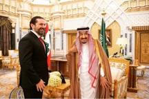 عکس سلفی نخست وزیر لبنان با ولیعهد عربستان