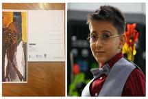 کودک 10 ساله فردیسی درمسابقات نقاشی بین المللی سوم شد