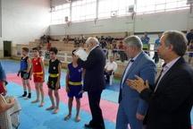 برگزاری مسابقات ووشوی نوجوانان بسیجی در ماسال