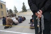 25 شرور در تایباد دستگیر شدند