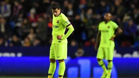 شکست بارسلونا در جام حذفی