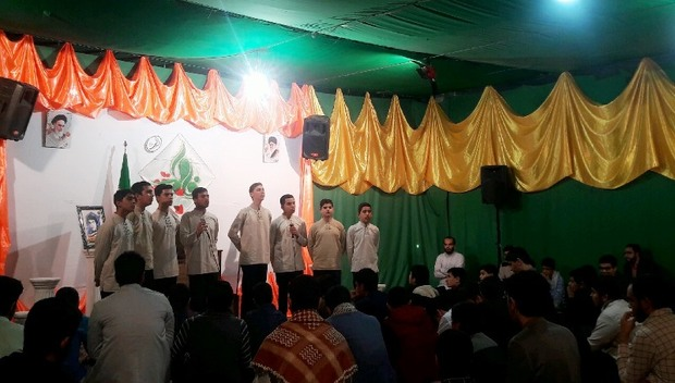 جشن میلاد حضرت فاطمه(س) در یزد برگزار شد