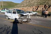 فوت راننده پراید بر اثر تغییر مسیر ناگهانی در آزادراه قزوین-زنجان