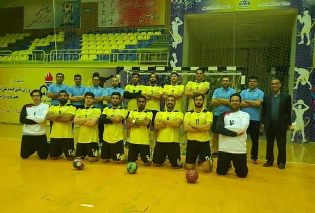 تیم مارون ماهشهر در لیگ برتر هندبال شرکت می کند