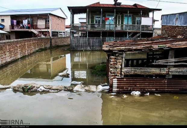 آخرین وضعیت شهرستان سیل زده گمیشان از نگاه خبرنگار ایرنا