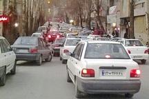ترافیک سنگین یک شهر
