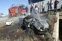 وقوع 2 حادثه رانندگی در میاندوآب پنج کشته  بر جای گذاشت
