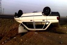 یک زن باردار در سانحه رانندگی جیرفت جان باخت