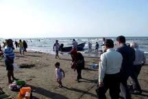 چپکرود ، بیشترین مسافران نوروزی جویبار را به ساحل کشاند