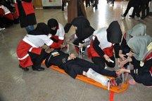 مانور زلزله و ایمنی در مدارس قم برگزار شد