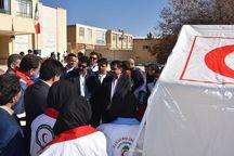دانشآموزان بهاباد با موارد ایمنی در زلزله آشنا شدند
