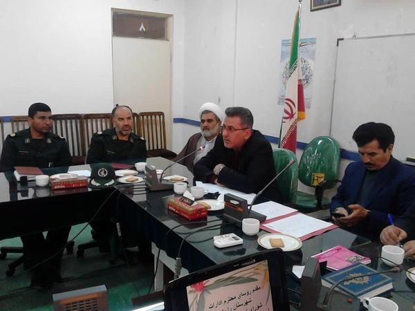 ادارات آبیک مکلف به اختصاص مکان به ستاد نوروزی شدند
