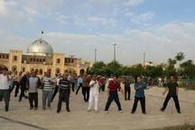 همایش ورزش همگانی خانوادگی در قزوین برگزار شد