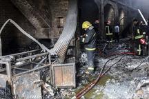 آتش سوزی در یک آموزشگاه هنری کرج 2 مصدوم داشت