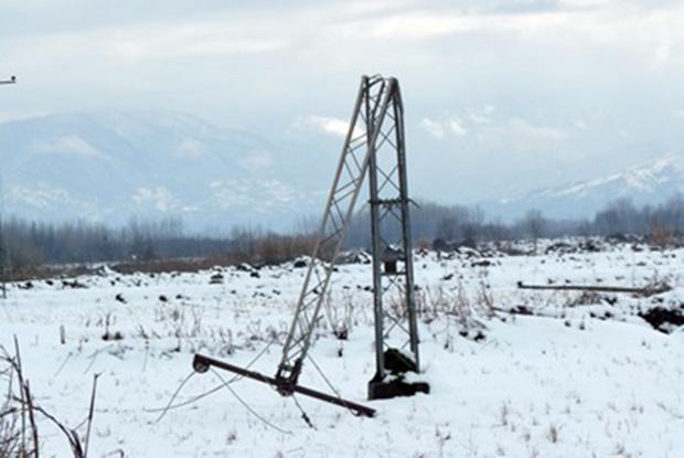 برق 108 روستای همدان قطع شد