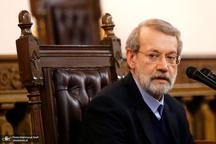 لاریجانی: دکتر روحانی بابت تفکیک نشدن وزارت صمت بارها از ما گله کرده است