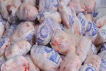 حدود 80 تن مرغ منجمد درالبرز توزیع شد