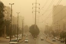 میزان گرد و غبار در اهواز به 22 برابر حد مجاز رسید
