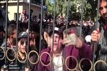 تظاهرات دانشجویان علیه بوتفلیقه+ تصاویر