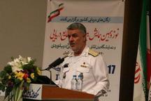 فرمانده نیروی دریایی ارتش: دریا فرصتی برای گفتمان بین المللی است