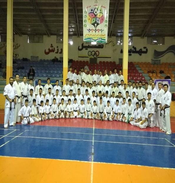 دوره استاژ کومیته کاراته در میاندوآب برگزار شد