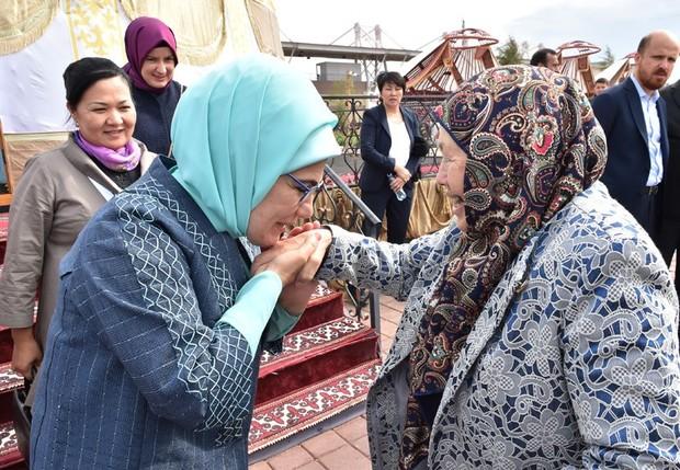 همسر اردوغان