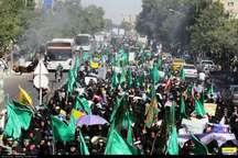 راهپیمایی عفاف و حجاب در مشهد برگزار شد