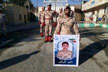 سرباز دلاور همدانی در دفاع از مرزهای کشور، با سرافرازی به شهادت رسید