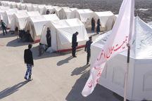 ظرفیت اسکان اضطراری هزار و 800  نفر در قزوین فراهم شد