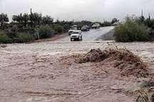 بارندگی شدید محورهای غربی هرمزگان را مسدود کرد