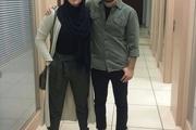 نوید محمدزاده در کنار برادرزاده اش+ عکس