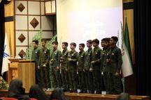 جشن چهل سالگی انقلاب در دانشگاه آزاد قزوین برگزار شد