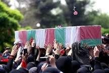 پیکر 2 شهید گمنام در دانشگاه آزاد اسلامی محمودآباد به خاک سپرده شد