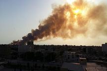 آتش سوزی در حاشیه اروندرود مهار شد