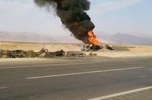 علت حادثه  آزاد راه کاشان هنوز مشخص نیست