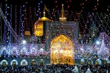آستان مصفای رضوی میعادگاه پیروان علوی در عید غدیر