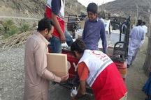ارائه خدمات آموزشی و حمایتی رایگان هلال احمر نیکشهر در مناطق محروم