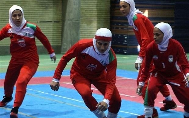 2 بازیکن از فارس در تمرین تیم ملی کبدی بانوان شرکت دارند