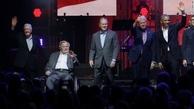 پنج رئیس جمهور در یک قاپ+ عکس