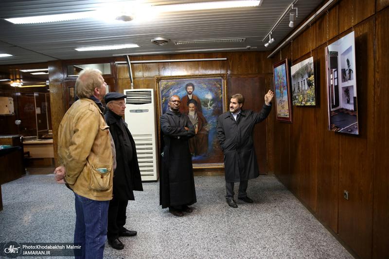 بازدید جمعی از مهمانان موسسه بین الملل مطالعات اسلامی از جماران