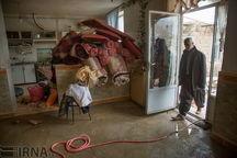 پرداخت خسارات سیل واحدهای مسکونی در روانسر آغاز شد