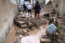 سیلاب حدود 150 میلیارد ریال به شهرستان گرمه خسارت زد