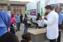 خدمات رایگان دندانپزشکی به 400 نفر در لنده ارائه شد