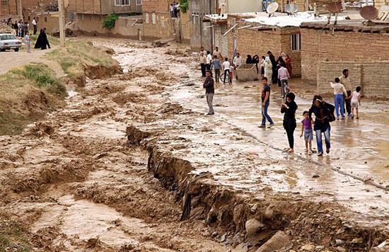 امدادرسانی به 1847 نفر سیلزده در خراسانرضوی آسیب جدی به منازل مسکونی روستای حبشیه