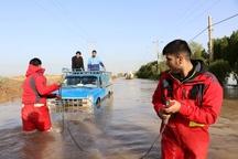 امدادرسانی به بیش از ۳۴۰۰ خانوار سیل زده خوزستانی  توزیع اقلام امدادی در میان آسیب دیدگان