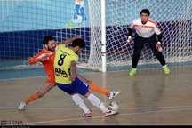 پیروزی تیم فوتسال  فرش آرا مشهد بر  طرح توسعه الوند قزوین