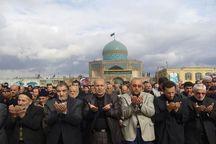 نماز ظهر عاشورا در قزوین اقامه شد