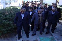 معاون وزیر نیرو از طرح انتقال آب سد طالقان به قزوین بازدید کرد