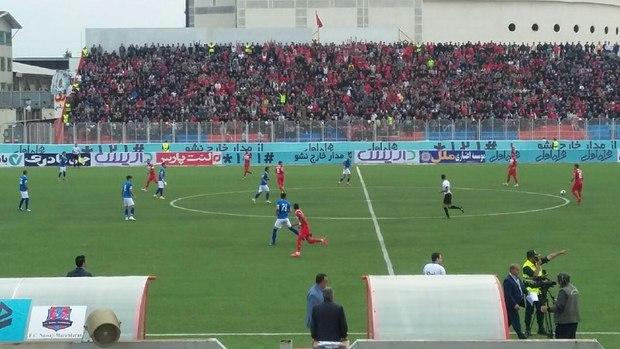 نساجی مازندران فاتح جدال ته جدولی های لیگ برتر فوتبال شد